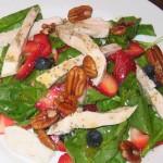 Berry Pecan Poppyseed Salad