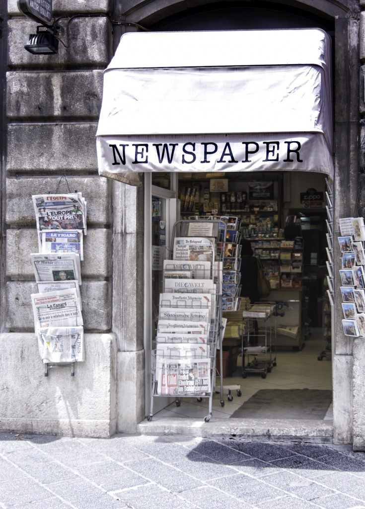Newspaper Shop