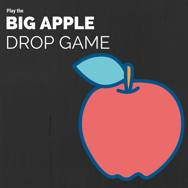 Play the Big Apple Drop Game