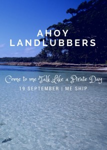 Ahoy Landlubbers Invitation Preview