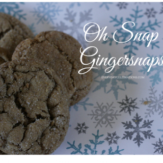 Oh Snap, It's Gingersnaps