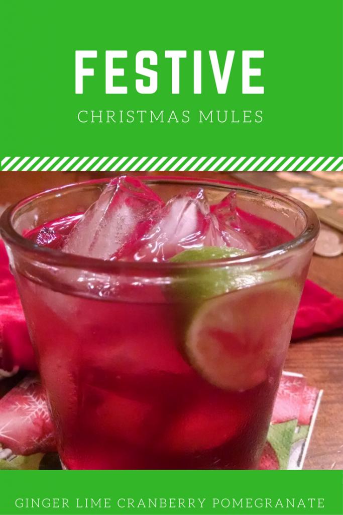 Festive Christmas Mule