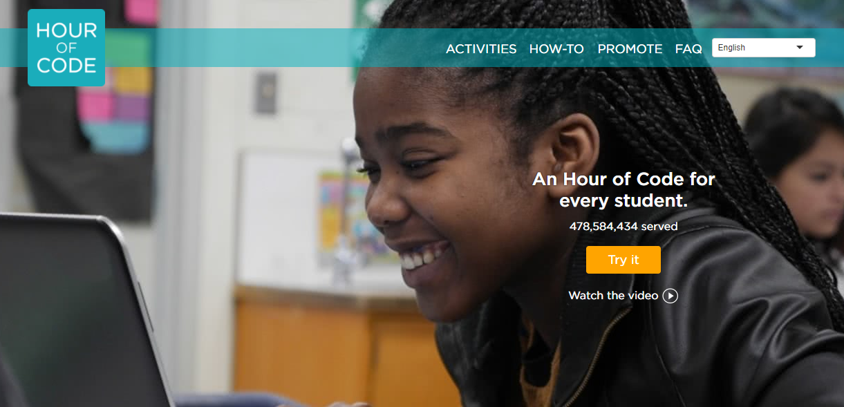 Hour of Code Screenshot